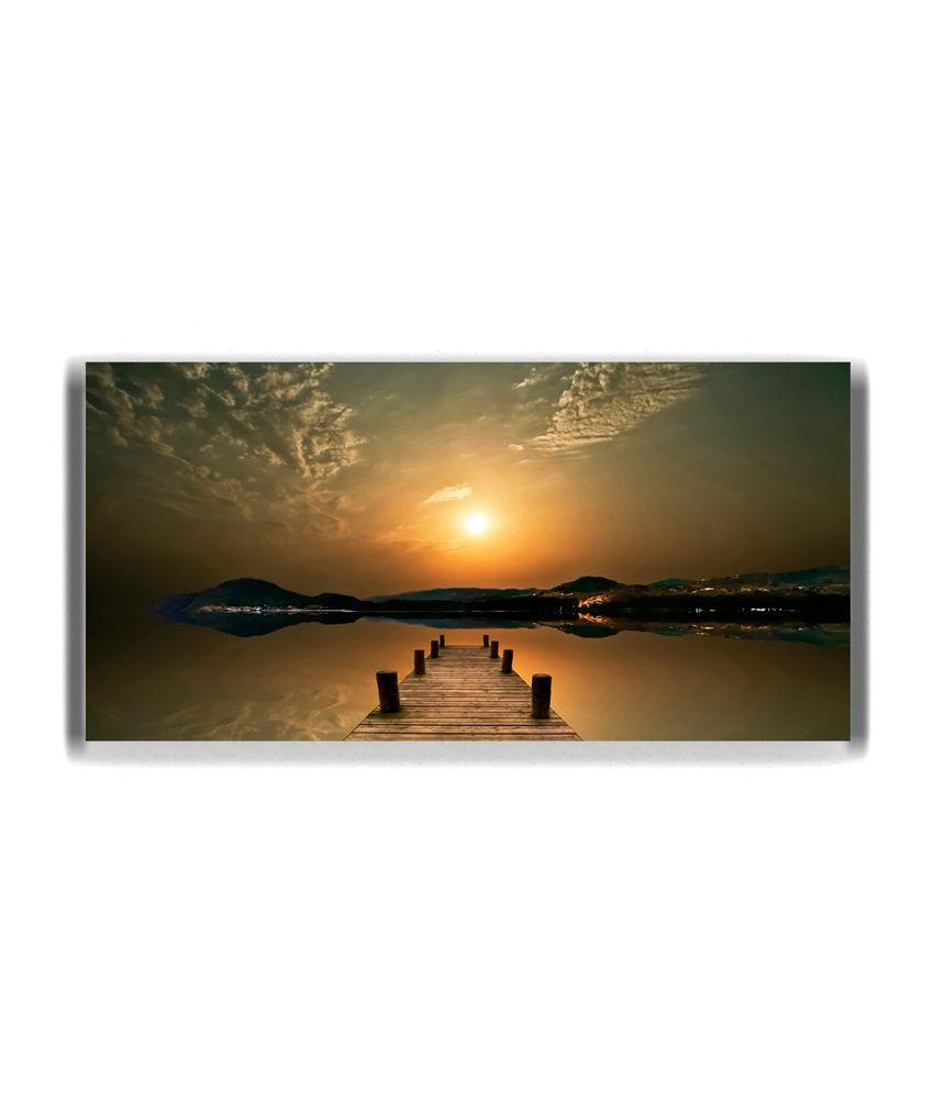 Thefrozenmoment Island Of Sun Art Print