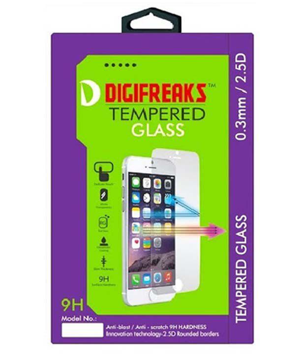 Samsung Galaxy J5 Tempered Glass Screen Guard by Digifreaks