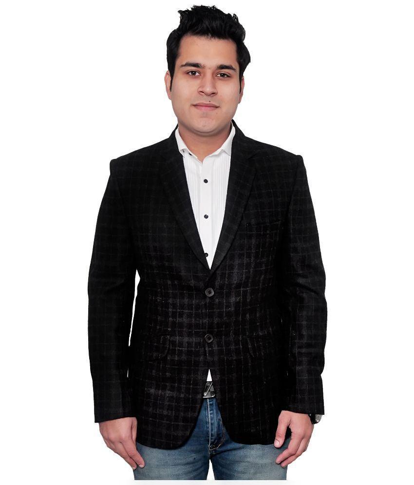 Fabmark Brown Woollen Blazer