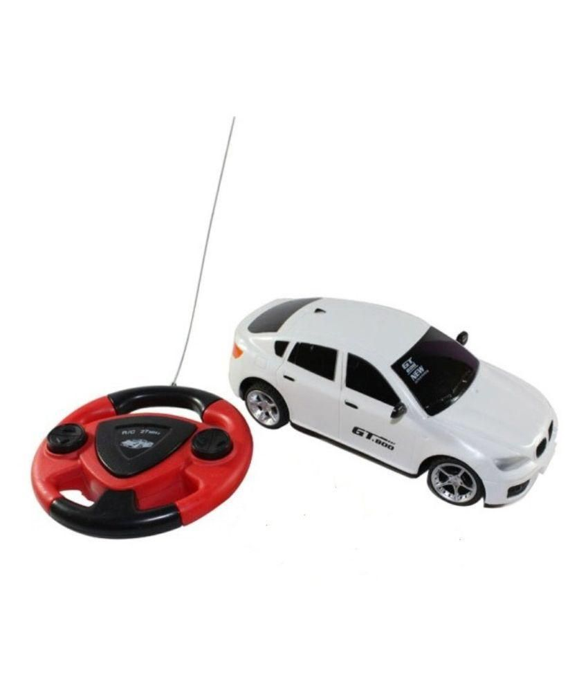 New Pinch New Pinch White Plastic Remote Control Car