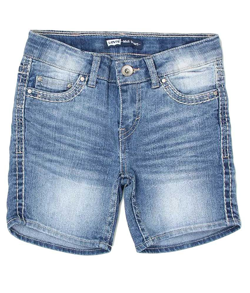 Levi's Kids Blue Shorts