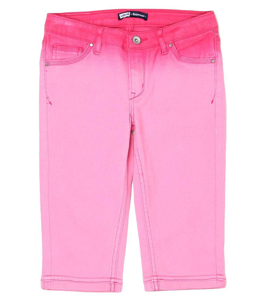 Levi's Kids Pink Capris