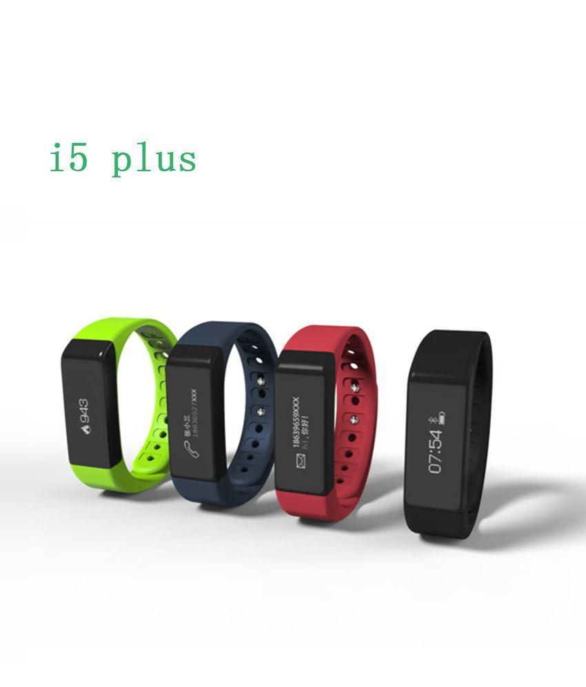 Iwown i5 Plus Bluetooth Fitband Smart Watch Fitness Tracker Band Android  iPhone