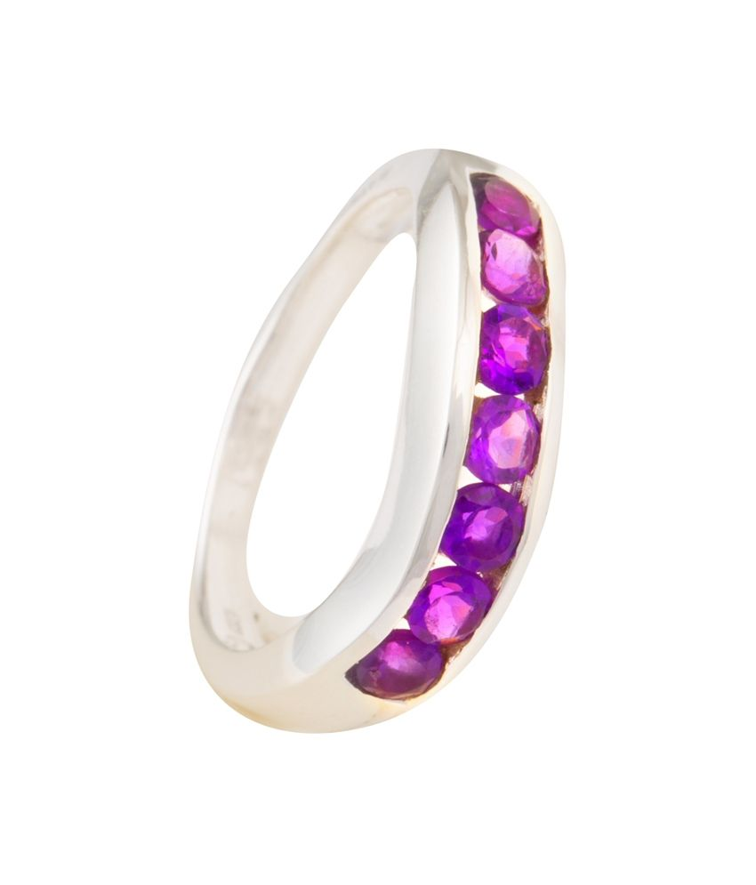 Eekaba Contemporary 92.5 Sterling Silver Ring