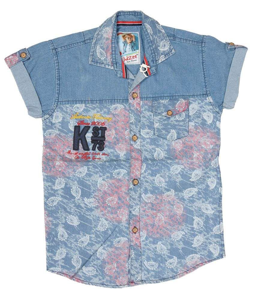 Kidzee Multicolor Casual Shirt
