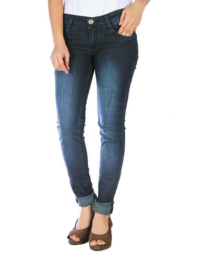Studio Nexx Green Denim Lycra Jeans