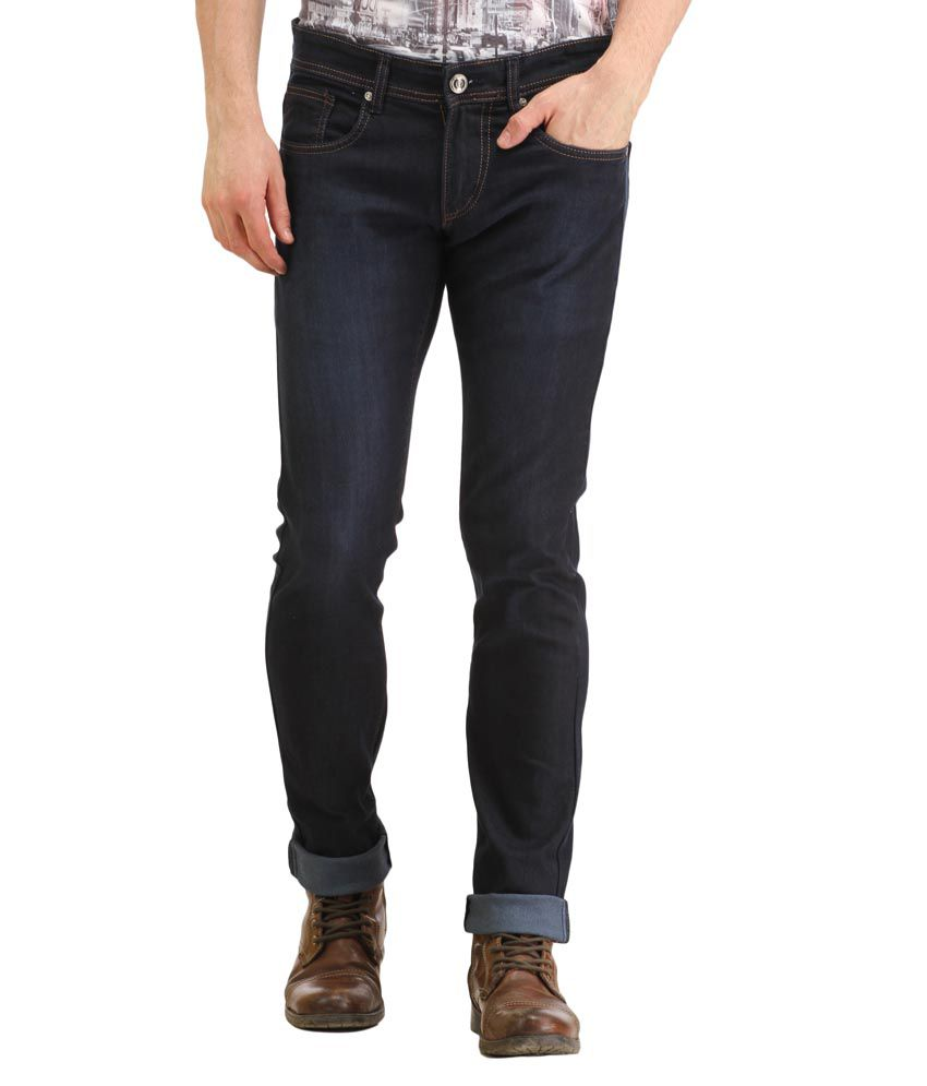 Spawn Navy Slim Fit Jeans