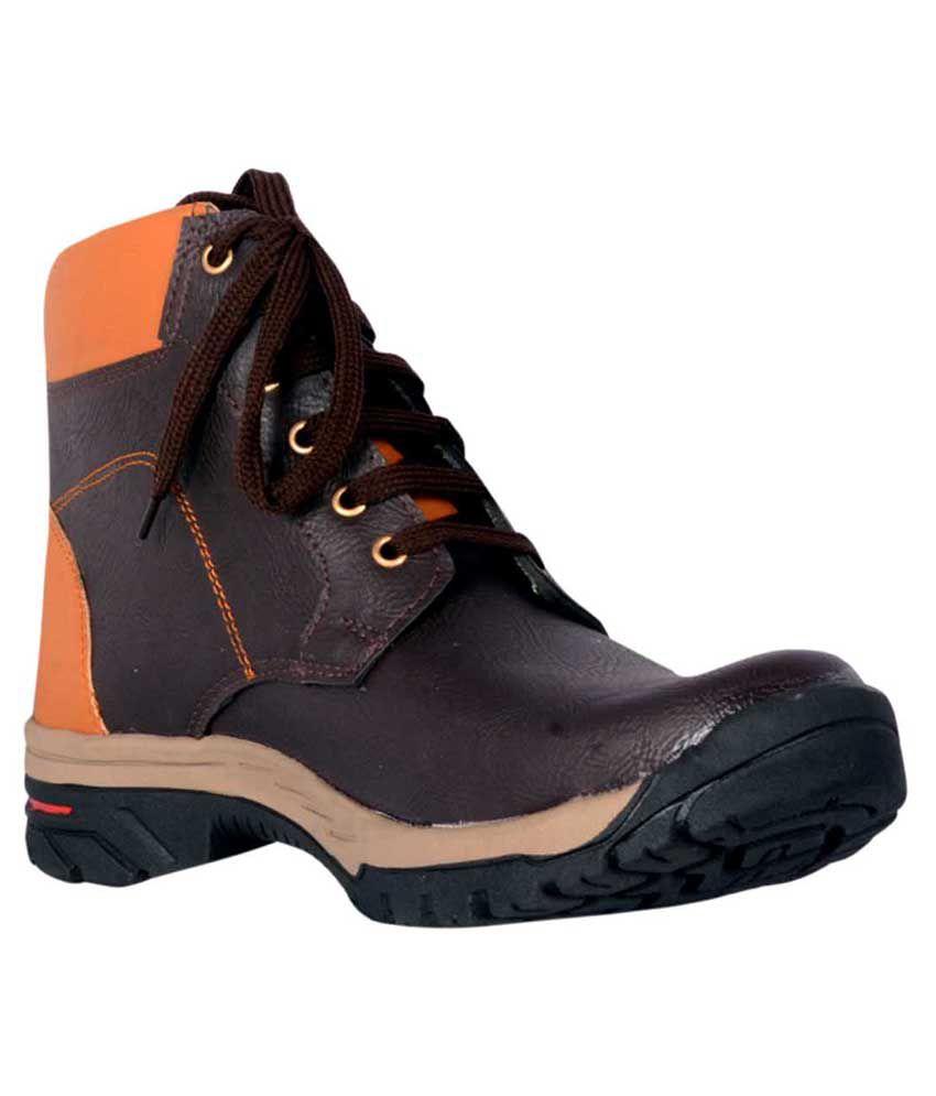 R V International Brown Boots