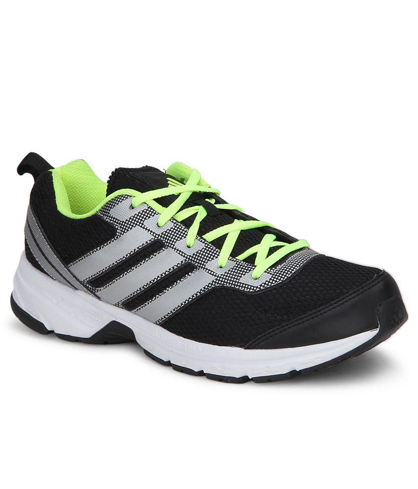 Adidas Adi Pacer Black Running Sports Shoes ...