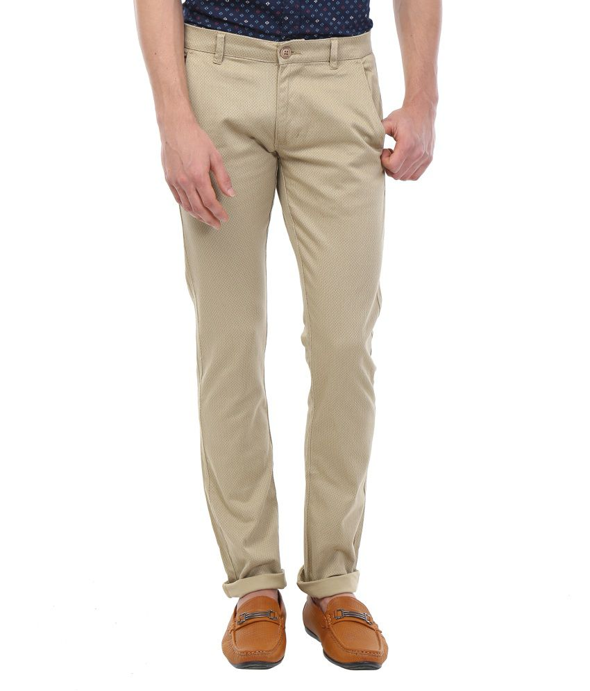 Bandit Beige Slim Fit Chinos