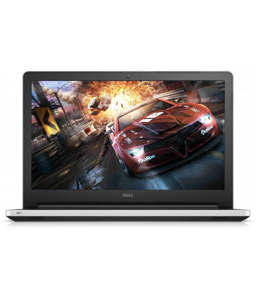 Dell Inspiron 5559 Notebook (Y566509HIN9WG) (6th Gen Intel Core i5- 8GB RAM- 1TB HDD- 39.62 cm (15.6)- Windows 10- 2GB Graphics) (White)