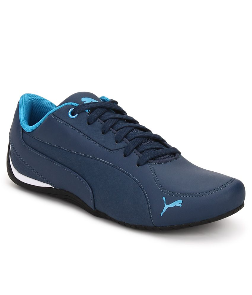 3244258fd57 Puma Drift Cat 5 Blue Lifestyle Casual Shoes - Buy Puma Drift Cat 5 Blue  Lifestyle Casual Shoes Online at Best Prices in India on Snapdeal