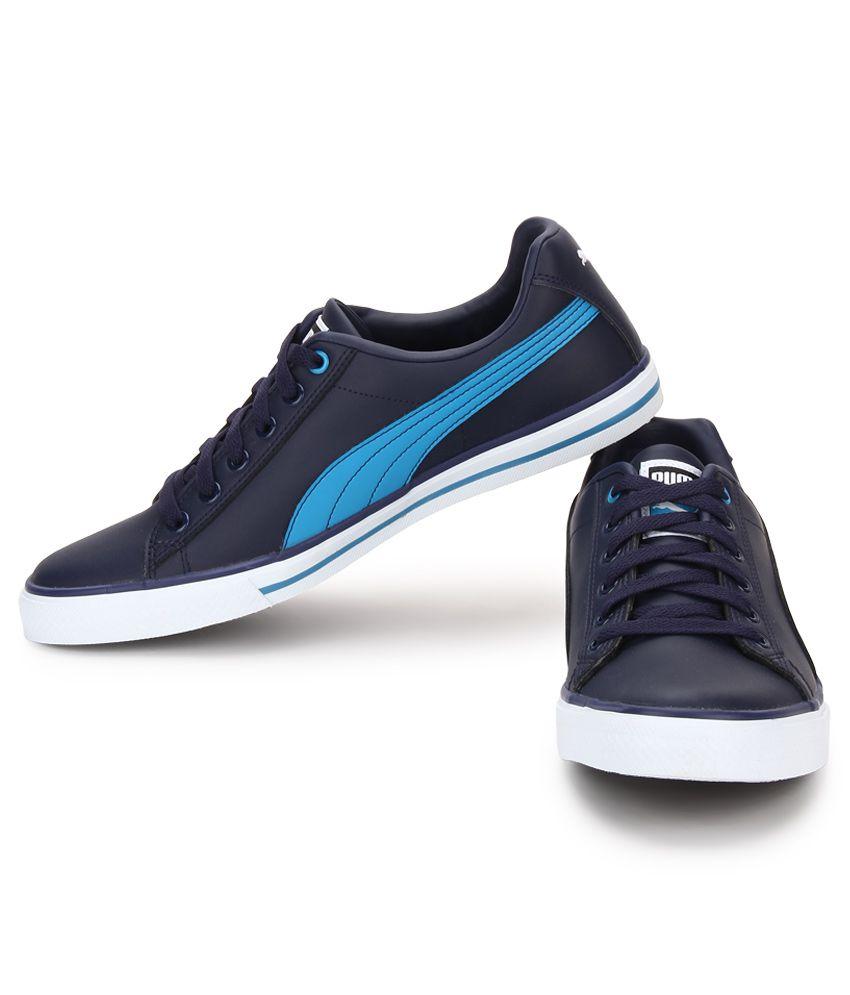Puma Salz Iii Navy Lifestyle Casual Shoes - Buy Puma Salz Iii Navy ... b6b62bccc