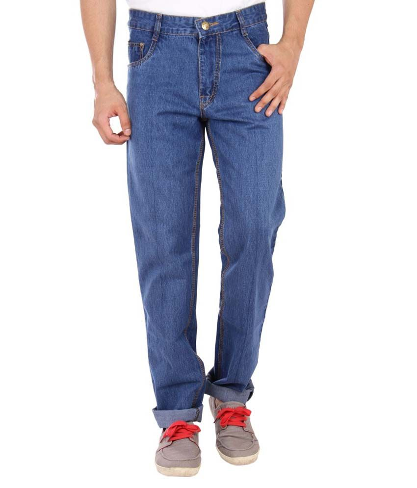 Studio Nexx Blue Regular Fit Jeans