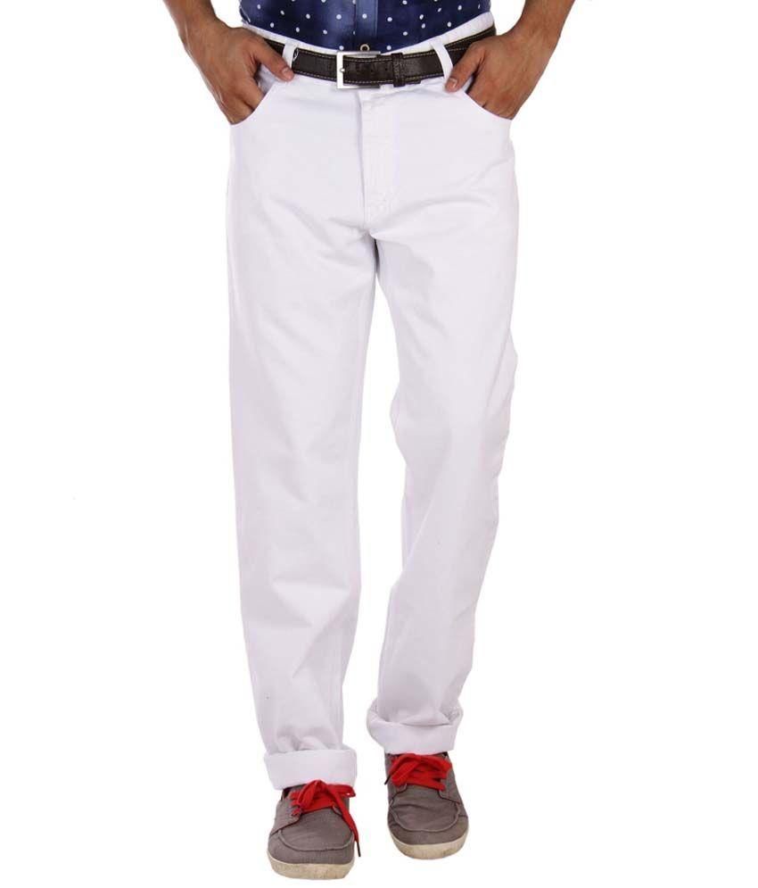 Studio Nexx White Regular Fit Jeans