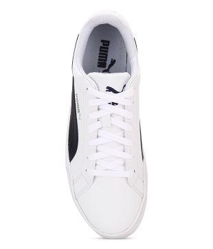 online store 957b9 bb504 Puma Smash Vulc White Lifestyle Casual Shoes - Buy Puma ...