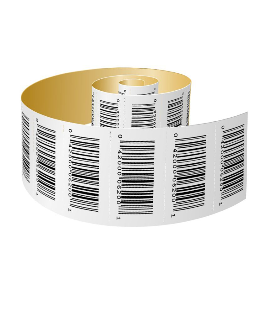 Vip Papers Bar Code Paper Roll
