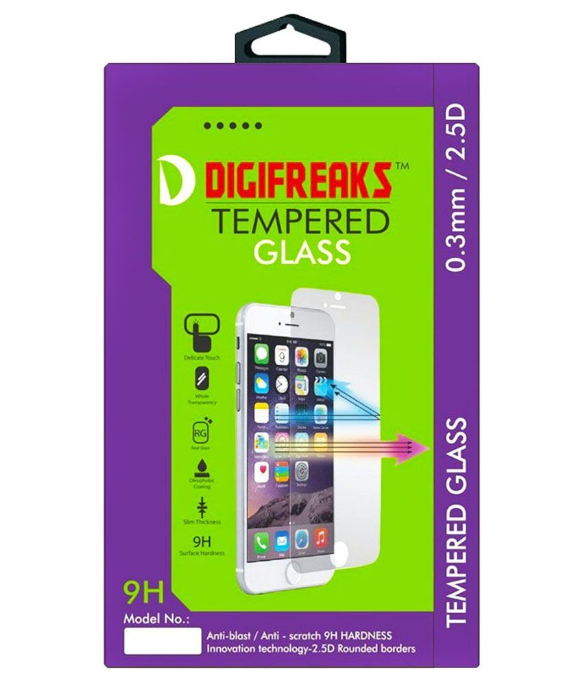 Asus Zenfone 5 A500cg Tempered Glass Screen Guard by Digifreaks