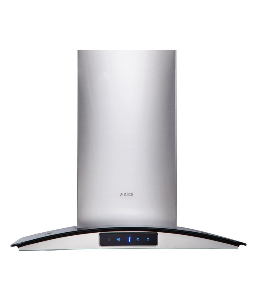 Elica Glace Trim Ltw 60 1150 m3/hr 60 cm Stainless Steel Hood Chimney