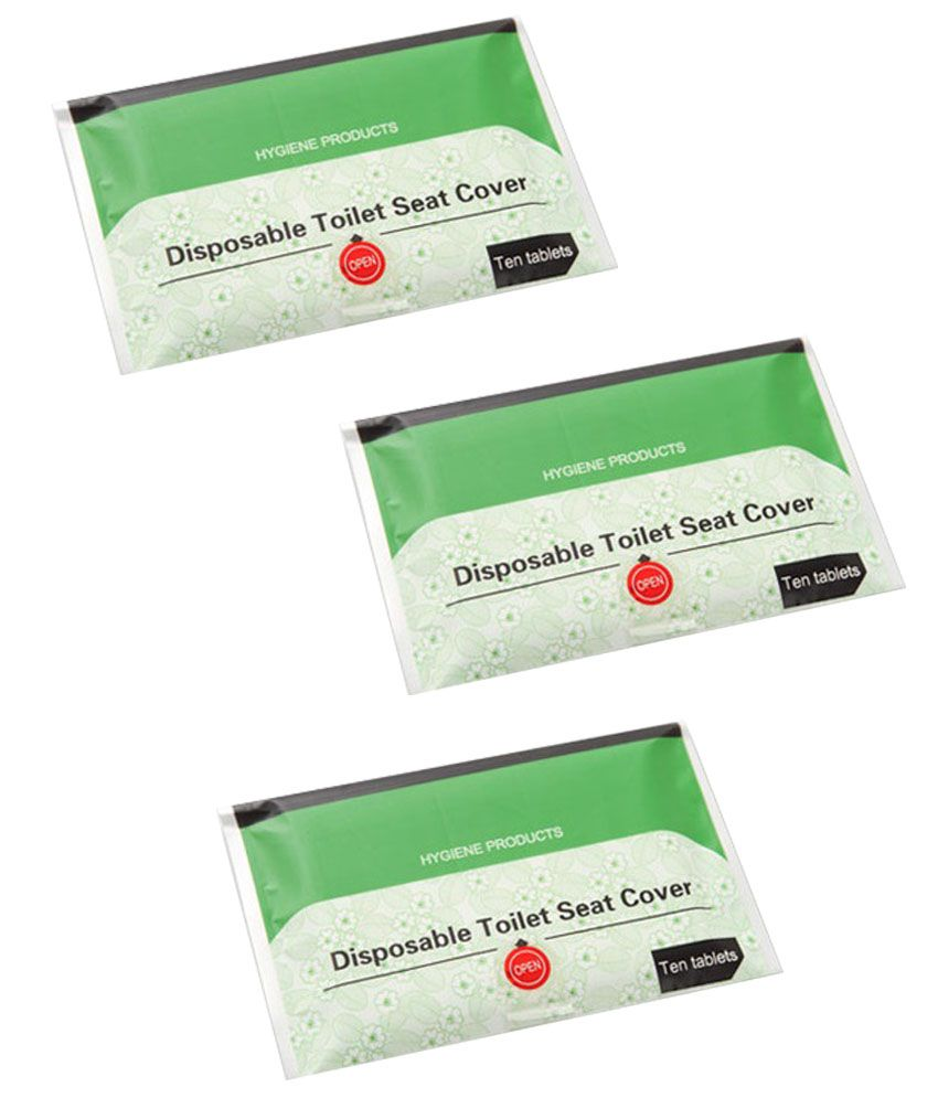 Disposable Toilet Generic Disposable Toilet Seat Covers Paper Pack Of 3 Buy