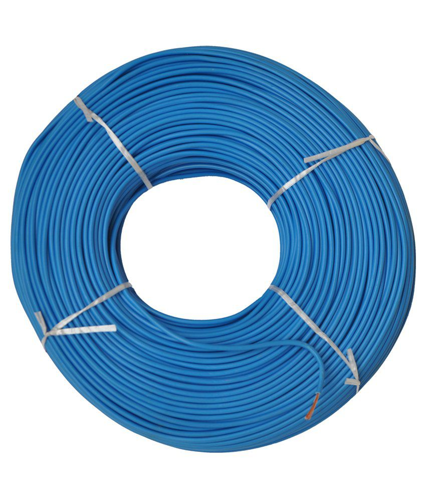 Buy Jupiter Blue 40 Sq Mm Fire Retardant 90 Meter House Wire Online Wiring