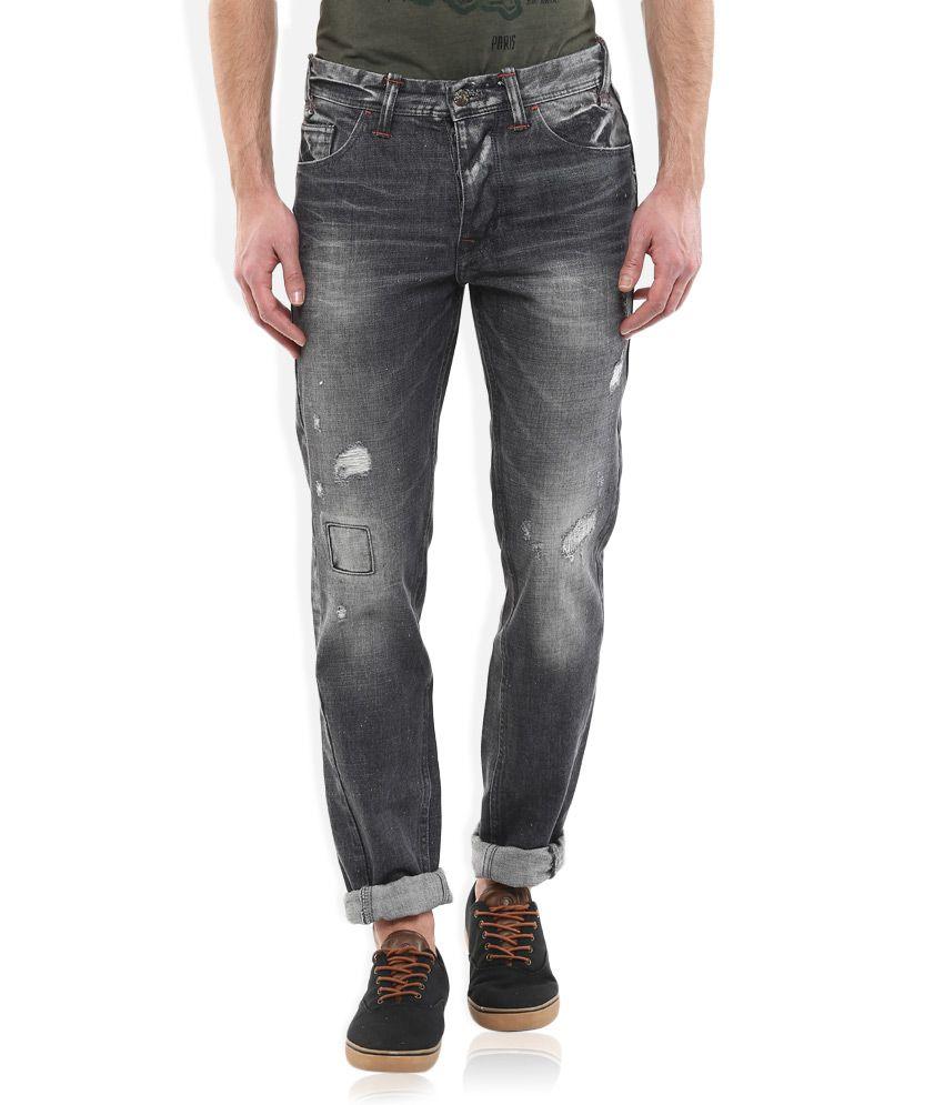 Celio Grey Slim Fit Jeans
