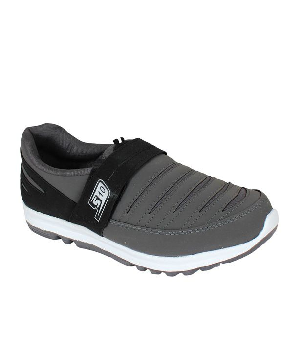 Smithsoul Grey Sports Shoes