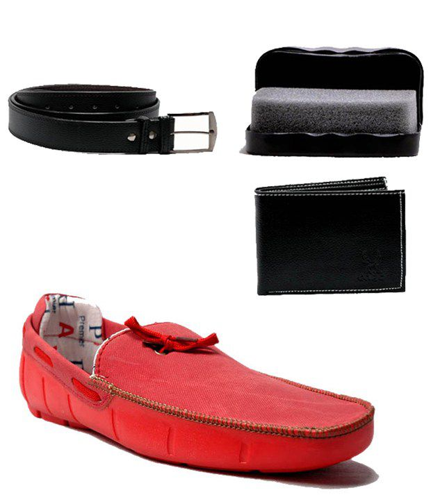 0 Annoyance Red Loafers