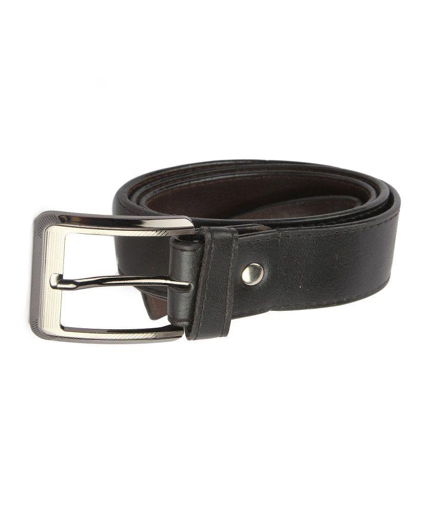 Zymour Black Formal Belt