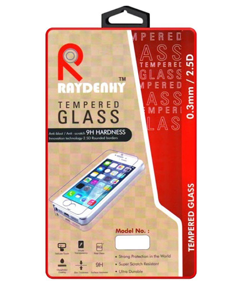 Apple Iphone 4/4s/4c (f&b) Tempered Glass Screen Guard by Raydenhy