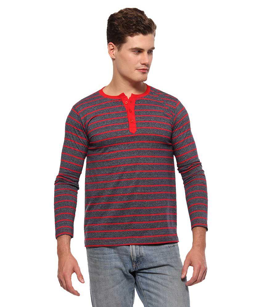 Youthen Multicolour Round T Shirt