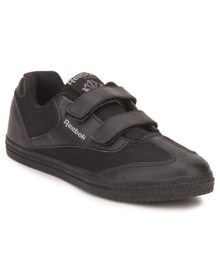 9d926a01e78 Reebok Class Buddy Black Casual Shoes For Kids Price in India- Buy Reebok  Class Buddy Black Casual Shoes For Kids Online at Snapdeal