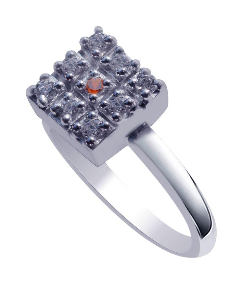 Jewelry Karigiri 92.5 Sterling Silver Ring - Silver