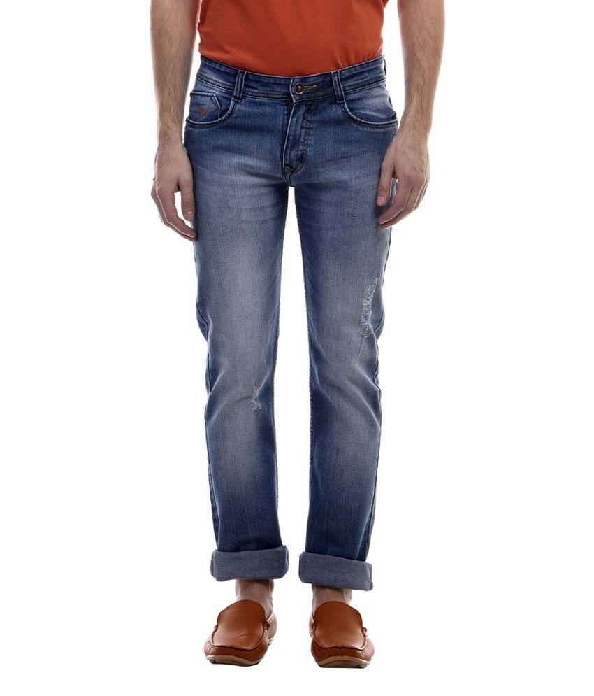 Raux Blue Slim Fit Jeans