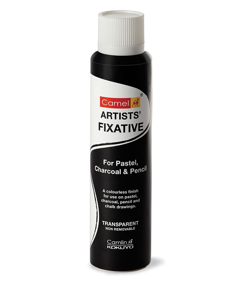 Camlin Artist Fixative Spray For Oil Pastel, Charcoal ...