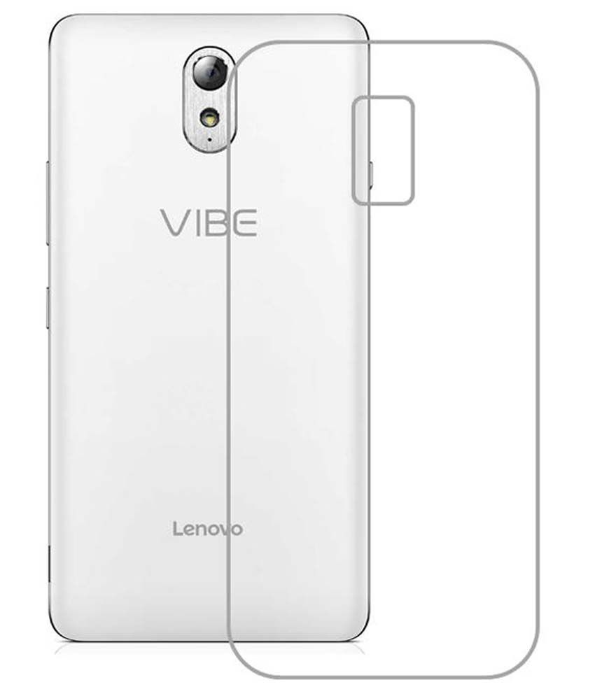 best cheap e6e2a d14e5 Buynow Back Cover For Lenovo Vibe P1m - Transparent