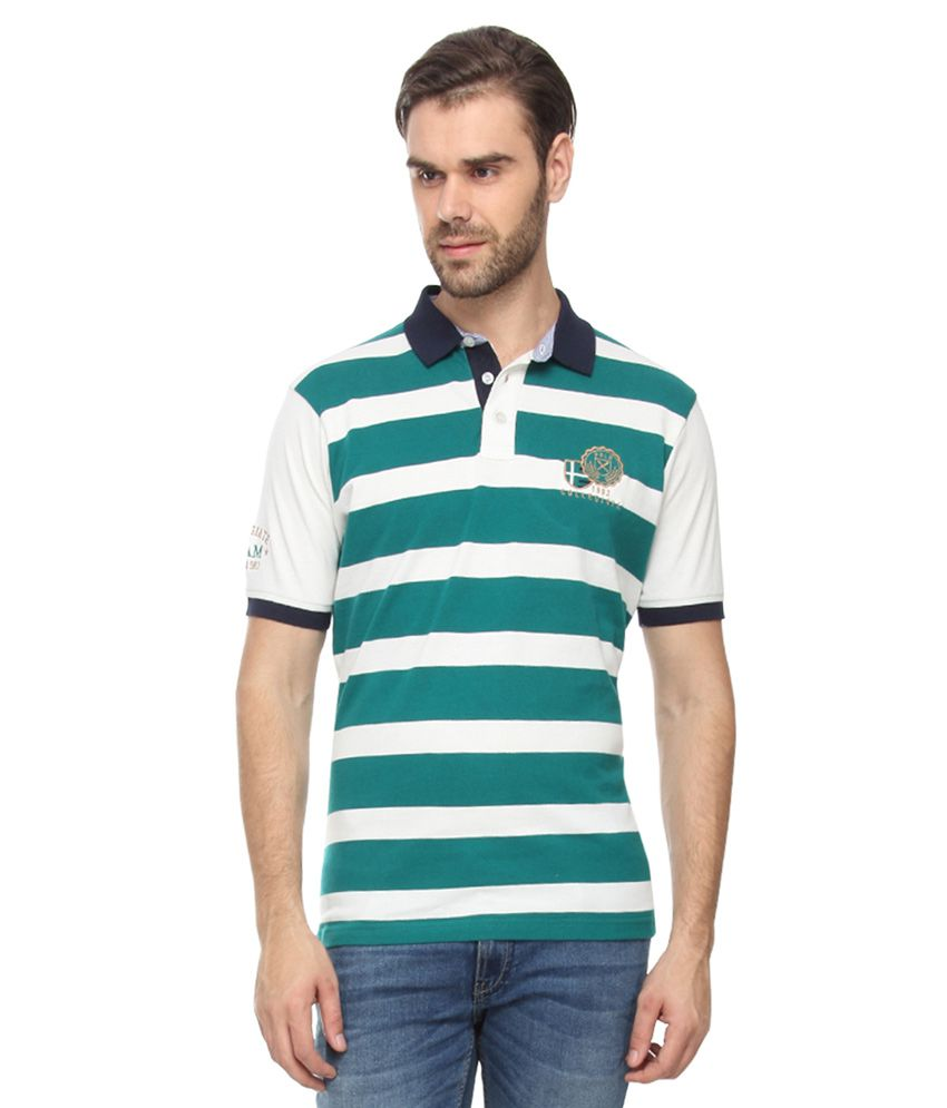 Proline Green Half Sleeves Polo T-Shirt