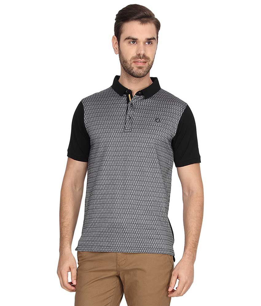 Proline Grey Half Sleeves Polo T-Shirt