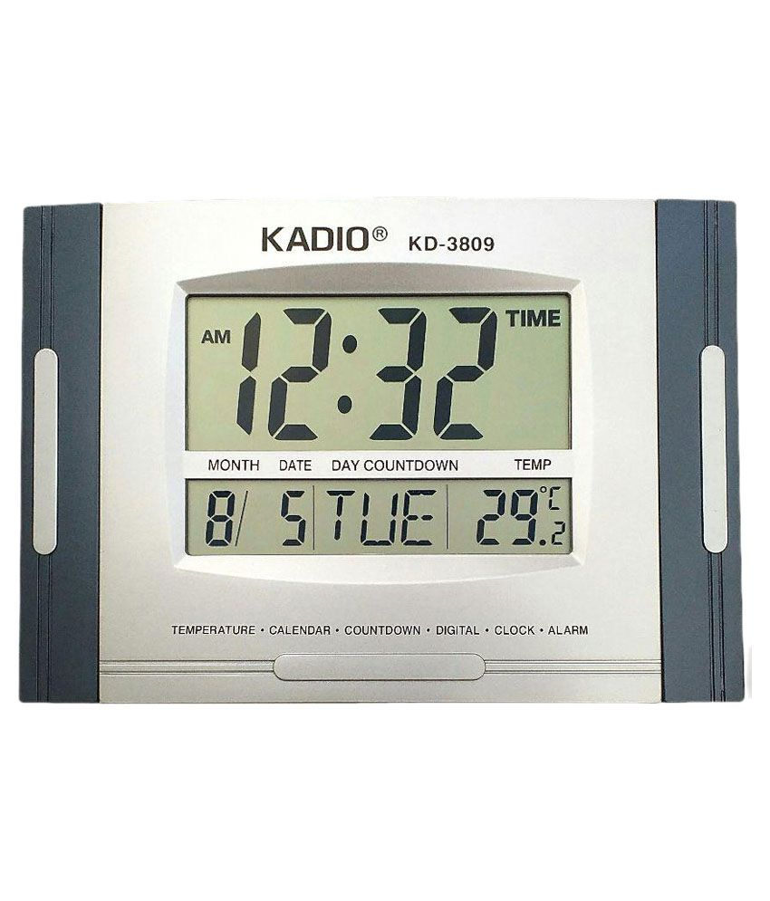 Kadio Kd 3809 Digital Wall Clock Buy Kadio Kd 3809