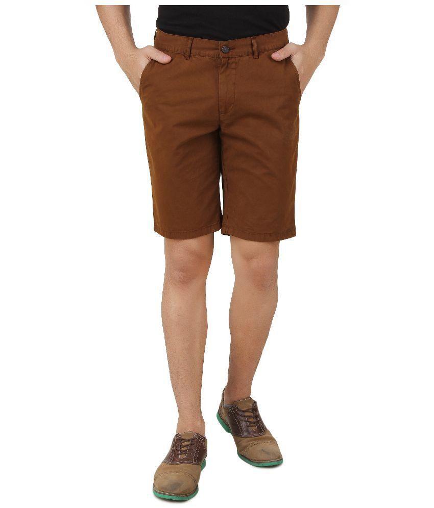 Nuluk Brown Shorts