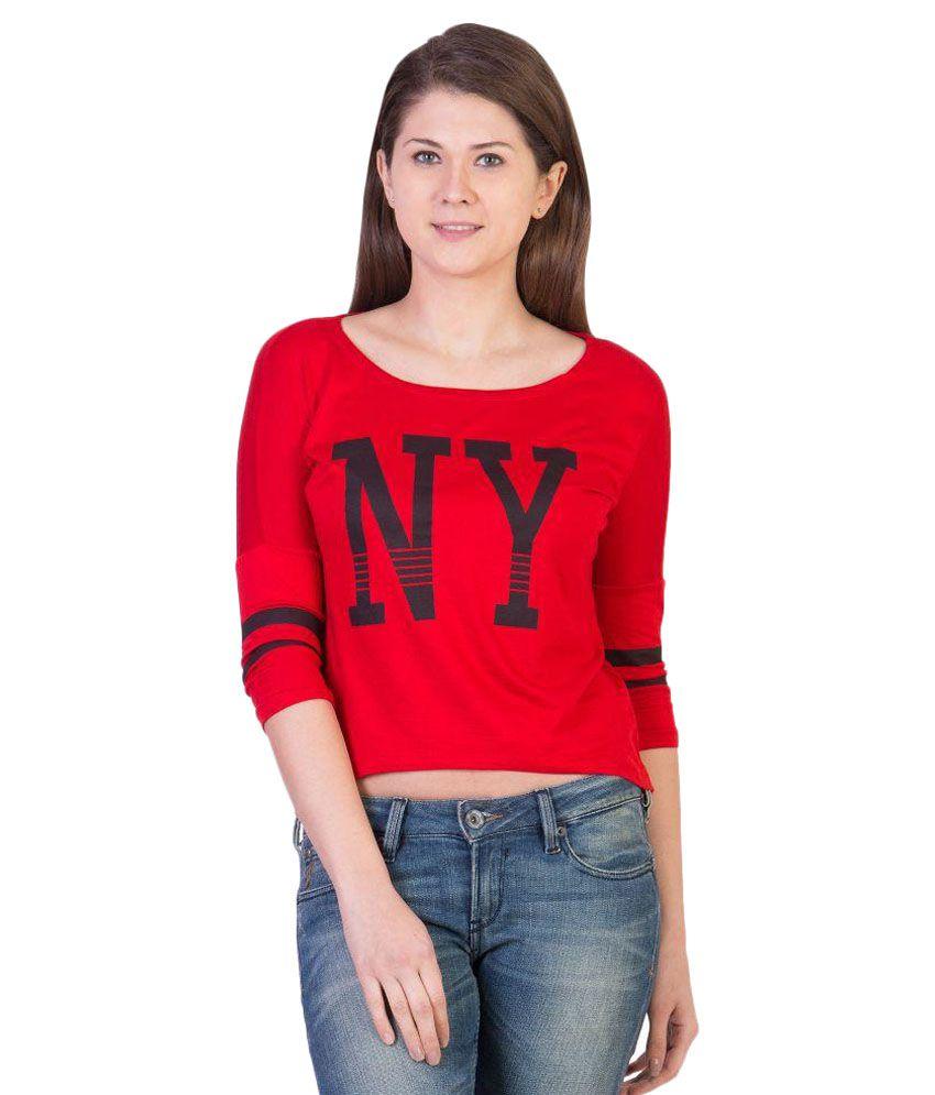 955747c5883 Ants Navy Cotton Crop Top Price in India   Buy Ants Navy Cotton Crop ...