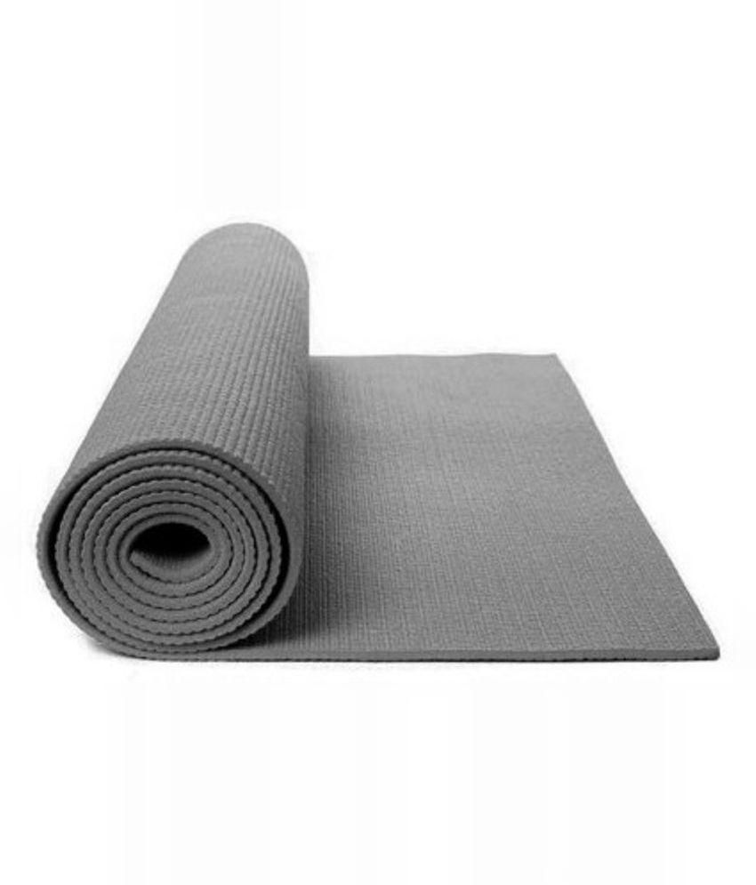 Floor Fashion Gray Yoga Mat: Buy Online at Best Price on ...