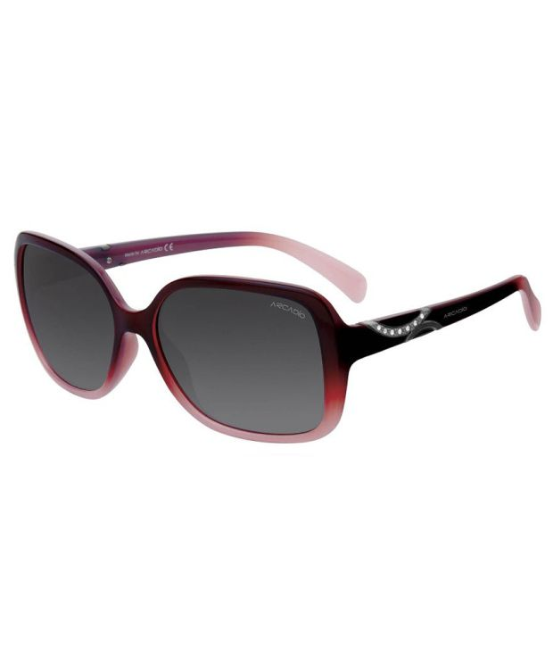 238026ef512 Arcadio Gray Women  039 s Square Sunglasses AR152BG GY available at SnapDeal  for Rs