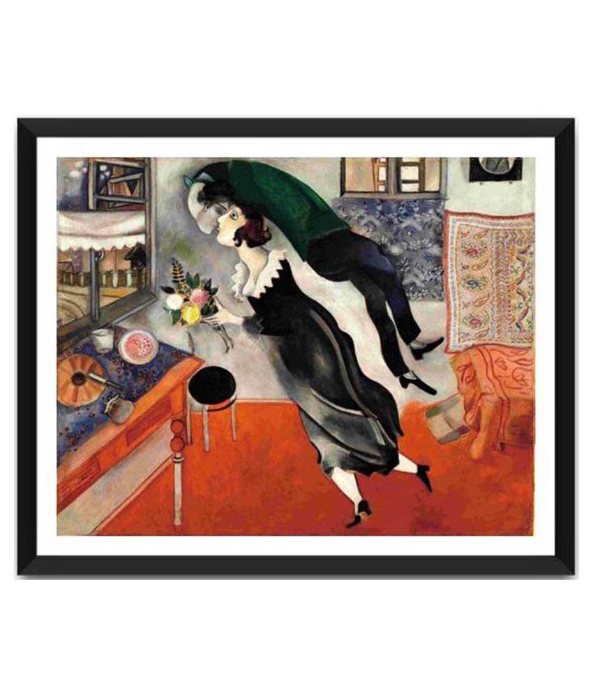 Tallenge Birthday By Marc Chagall Framed Art Print