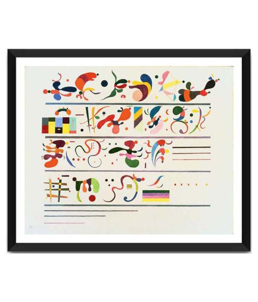 Tallenge Succession By Wassily Kandinsky Framed Art Print