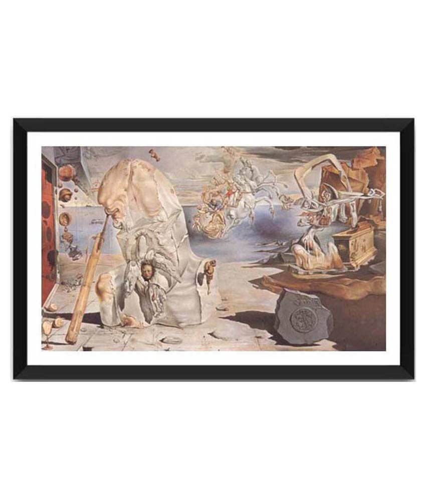 Tallenge The Apotheosis Of Homer By Salvador Dali Framed Art Print