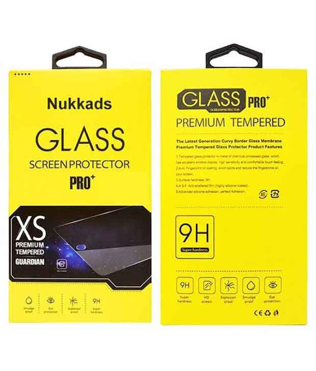 Lenovo Vibe K4 Note Tempered Glass Screen Guard by Nukkads
