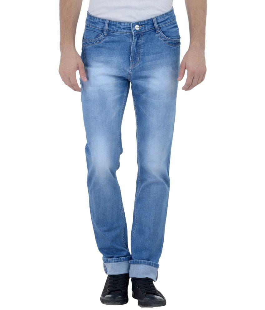 Cobb Blue Slim Fit Jeans No