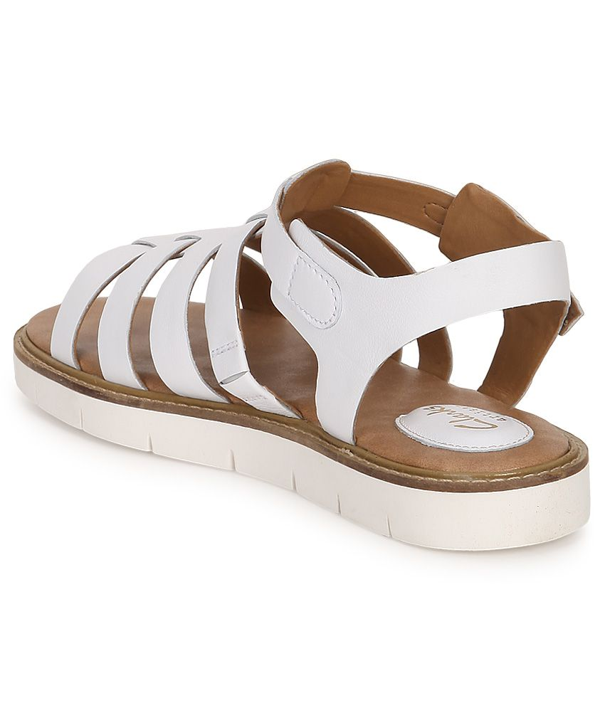 15649c9ed811 Clarks White Sandals Price in India- Buy Clarks White Sandals Online ...
