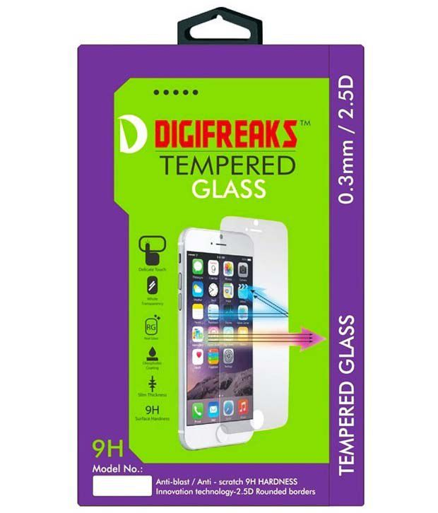 Samsung Galaxy A7 Tempered Glass Screen Guard by Digifreaks